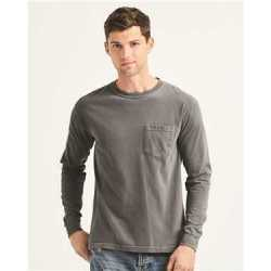 Comfort Colors 4410 Garment-Dyed Heavyweight Long Sleeve Pocket T-Shirt