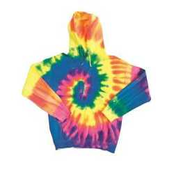 Dyenomite 680BVR Youth Blended Hooded Sweatshirt