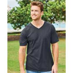 Fruit of the Loom 39VR HD Cotton V-Neck T-Shirt