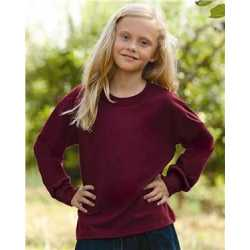 Fruit of the Loom 4930BR HD Cotton Youth Long Sleeve T-Shirt