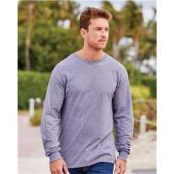 Fruit of the Loom 4930R HD Cotton Long Sleeve T-Shirt