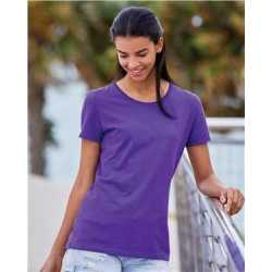 Fruit of the Loom L3930R HD Cotton Women's Short Sleeve T-Shirt