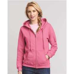 Gildan 18600FL Heavy Blend Women's Full-Zip Hooded Sweatshirt