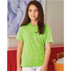 Hanes 5370 Ecosmart Youth Short Sleeve T-Shirt
