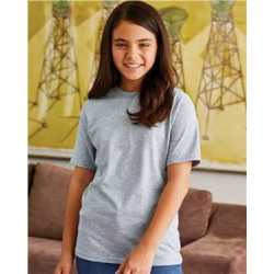 Hanes 5380 Beefy-T Youth Short Sleeve T-Shirt