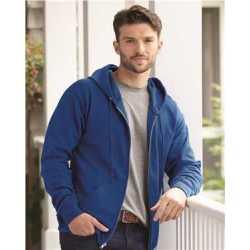 Hanes P180 Ecosmart Full-Zip Hooded Sweatshirt