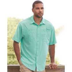 Hilton ZP2297 Baja Short Sleeve Fishing Shirt