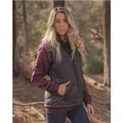 Independent Trading Co. EXP220PFV Women's Puffer Vest