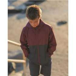 Independent Trading Co. EXP24YWZ Youth Lightweight Windbreaker Zip Jacket