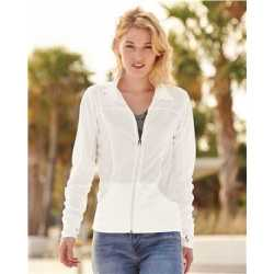 Independent Trading Co. EXP60PAZ Women's Poly-Tech Full-Zip Track Jacket