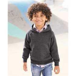 Independent Trading Co. PRM10TSB Toddler Special Blend Raglan Hooded Sweatshirt