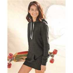 Independent Trading Co. PRM65DRS Women's Special Blend Hooded Sweatshirt Dress