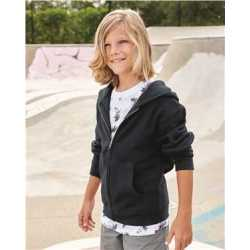 Independent Trading Co. SS4001YZ Youth Midweight Full-Zip Hooded Sweatshirt