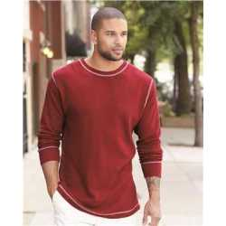 J. America 8238 Vintage Thermal Long Sleeve T-Shirt