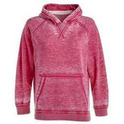 J. America 8611 Youth Vintage Zen Fleece Hooded Sweatshirt
