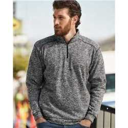 J. America 8614 Cosmic Fleece Quarter-Zip Sweatshirt