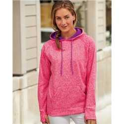 J. America 8616 Women's Cosmic Fleece Hooded Sweatshirt