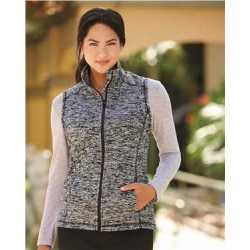 J. America 8625J Women's Cosmic Fleece Vest