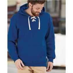 J. America 8830J Sport Lace Hooded Sweatshirt