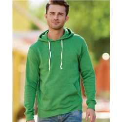 J. America 8871J Triblend Hooded Sweatshirt