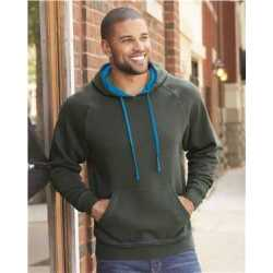 J. America 8883J Shadow Fleece Hooded Sweatshirt