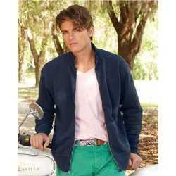 J. America 8984 Vintage Fleece Track Jacket