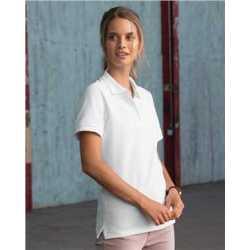JERZEES 443W Women's 100% Ringspun Cotton Pique Sport Shirt