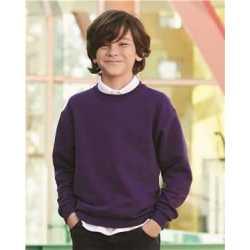 JERZEES 562BR NuBlend Youth Crewneck Sweatshirt