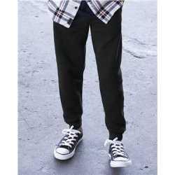 JERZEES 975YR Youth NuBlend Jogger Fleece Pant
