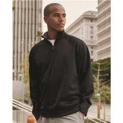 JERZEES PF95MR Dri-Power Sport Quarter-Zip Cadet Collar Sweatshirt