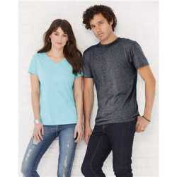 LAT 6991 Harborside Melange T-Shirt