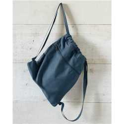 Liberty Bags 8877 Pigment-Dyed Canvas Drawstring Bag