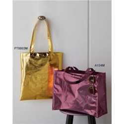Liberty Bags A134M Easy Print Metallic Large Tote