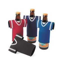 Liberty Bags FT008 Collapsible Jersey Foam Can & Bottle Holder