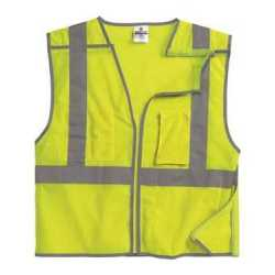 ML Kishigo 1505-1506 Premium Brilliant Series Economy Breakaway Vest