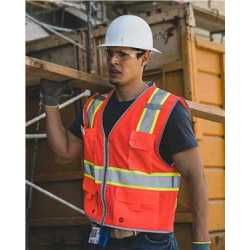 ML Kishigo 1510-1511 Premium Brilliant Series Heavy-Duty Class 2 Vest