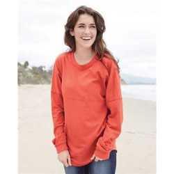 MV Sport W15108 Women's Athena French Terry Dolman Sleeve Sweatshirt