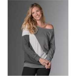 MV Sport W18138 Women's Angel Fleece Sasha Pullover