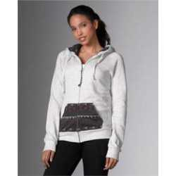MV Sport W18139 Women's Angel Fleece Nadia Full Zip