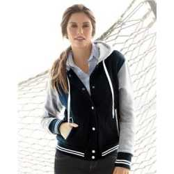 MV Sport W2344 Women's Varsity Sweatshirt