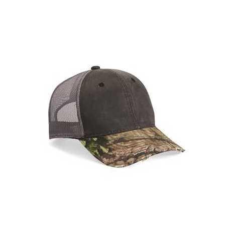 Outdoor Cap HPC500M Distressed Camo Mesh-Back Cap