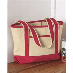 Q-Tees Q125800 20L Small Deluxe Tote