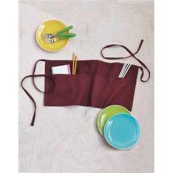 Q-Tees Q2115 Waist Apron with Pockets