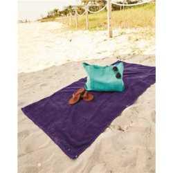 Q-Tees QV3060 Velour Beach Towel