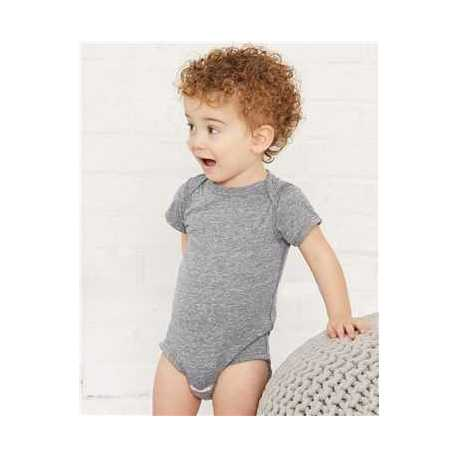 Rabbit Skins 4491 Infant Harborside Melange Bodysuit