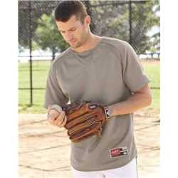 Rawlings 0705 Short Sleeve Flatback Mesh Fleece Pullover