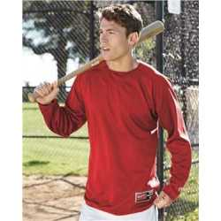 Rawlings 9705 Flatback Mesh Fleece Long Sleeve Pullover