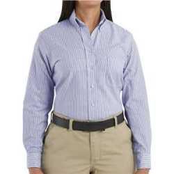 Red Kap SR71 Women's Long Sleeve Executive Dress Shirt