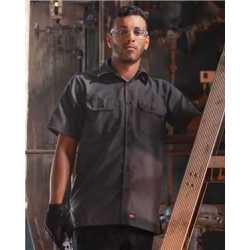 Red Kap SY60L Ripstop Short Sleeve Work Shirt Long Sizes