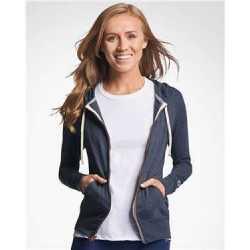 Russell Athletic 64ZTTX Women's Essential Jersey Full-Zip Hoodie